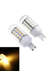 1 pcs G9 7W 36X SMD 5050 864LM 2800-3500/6000-6500K Warm White/Cool White Corn Bulbs AC 220V