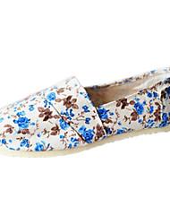 женская обувь утешить плоские пятки холст бездельников обувь