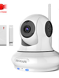 HOSAFE™ 1.0 Megapixel Alarm HD IP Camera with Wireless Door Contact