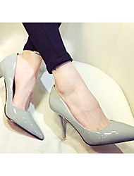 Women's Shoes Pointed Toe Stiletto Heel Patent Leather Pumps/Heels Shoes More Colors available