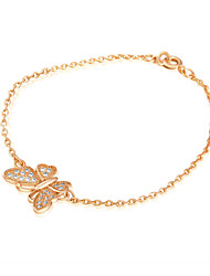 Women's Fashion Gold Plating Color Individuality Butterfly Bracelet