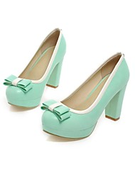 Women's Shoes Chunky Heel Round Toe Pumps Shoes Dress More Colors available