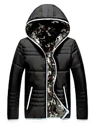 coton rembourré veste hiver des hommes