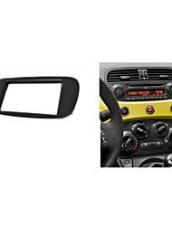 fascia radio del coche para fiat kit de instalación de tablero salpicadero trim (500) dvd cd