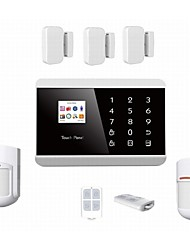 IOS/ APPS Andriod GSM alarm,GSM SMS security Burglar Alarm System Detector Sensor Remote Control CONTACT ID