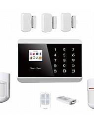IOS/ APPS Andriod GSM alarm,GSM SMS security Burglar Alarm System Detector Sensor Remote Control CONTACT ID