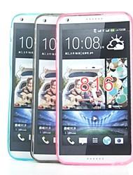couverture de cas - Coque Arrière - Surface Cristal/Design Spécial/Transparents/Nouveautés - en HTC Desire 816