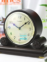 "Modern/Home/Office/Hotel/Business/Wood/Tablel Clock/8.5*3.375*7.125""/Japan Seiko Movement"