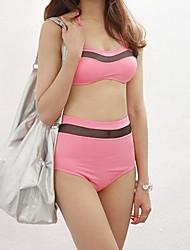 Women's Spandex Push-up Bikinis Swimwear