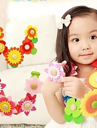 benho 88pcs diy bloem kralen baby speelgoed