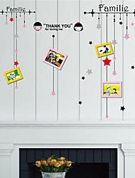 adesivi murali decalcomanie della parete, le stelle adesivi murali Photo Frame adesivi eva