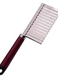NEJE Stainless Steel Wavy Blade Potato Cutting Knife