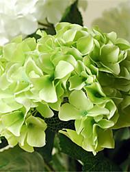 "36"" Green Hyfrangeas Artificial Flowers"