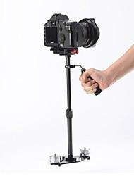 álamo fibra de carbono cámara de vídeo DSLR steadycam estabilizador para estudio estabilizador de vídeo sj4000 wdv5000 + ir adaptador pro