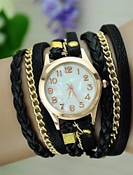 Women's Vintage Braided Rope Wrap Bracelet Watch Cool Watches Unique Watches Fashion Watch