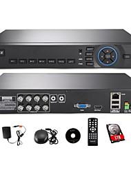 annke® 8ch hdmi ahd dvr di sicurezza cctv sistema remoto codice della vista / smartphone qr scan accesso rapido (HDD 1TB)