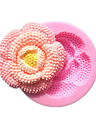 Round Jewelry Flower Shape Fondant Cake Molds Decoration Chocolate Mould For The Kitchen Baking For Sugar Candy