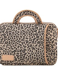 "13.3"" 14.1"" 15.6"" Leopard Prints Shakeproof Laptop Bags with Handle for Dell ThinkPad MacBook HP"