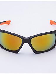 Les lunettes de soleil de conduite de la mode rectangle plastique des hommes anti-réfléchissantes