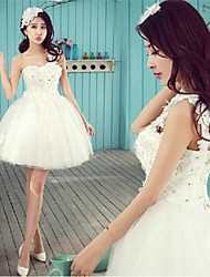 Dress - As Picture A-line One Shoulder Short/Mini Tulle