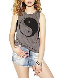 Women's Fashion Print Vest