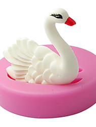 Silicone Fondant Mold Swan Chocolate Mould Cake Decoration