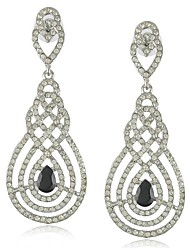 New Brand Crystal Wedding Earrings India Style Rhinestone Drop Earrings for Women Bridal Party Jewelry (More Colors)