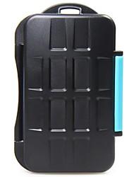 JJC titular de la tarjeta mc-2 memoria puede almacenar 4 tarjetas CF o 8 tarjeta sd