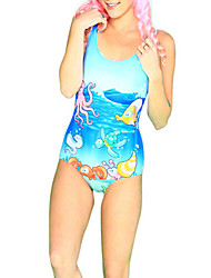 Ocean Kingdom Spandex Women's Swimsuit