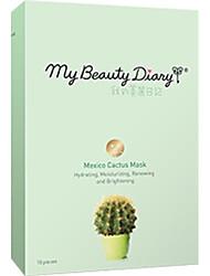 Моя красота дневник Мексика кактус маска 10шт