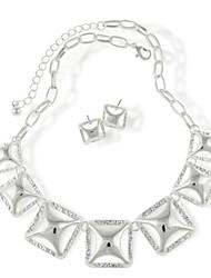 Women's Alloy Jewelry Set