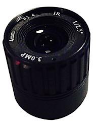 Vigilancia cctv 4mm 3.0MP cs cs lente de la cámara