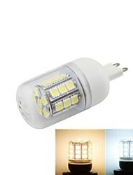 G9 LED a pannocchia 27 SMD 5050 648 lm Bianco caldo / Luce fredda AC 220-240 V 1 pezzo