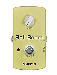 joyo rolo impulso pedal jf-38 efeitos de guitarra de reforço
