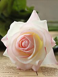 "18""L Rose Silk Cloth Flowers Set of 2 Little Purple"