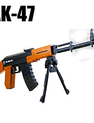 AUSINI Anti-truth Assembled Rifle AK47 Educational toys