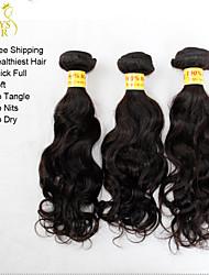 La extensión del pelo - para Mujer - Cabello natural - Negro - Ondulado/Ondulado Natural/Ondulado Pequeño