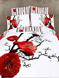 Ropa de cama 3d juego de cama cubierta de funda nórdica establece ropa de cama en una bolsa conjuntos de edredones ropa de cama