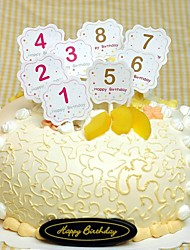 Birthday Party Tableware Cake Accessories