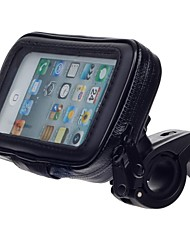 M05 Motorcycle Bicycle Water Resistant Holder Stand for GPS, iPhone 5 (Black)