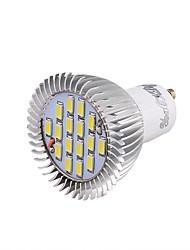 8W GU10 Spot LED 16 SMD 5630 650 lm Blanc Froid Décorative V 1 pièce
