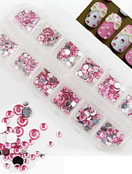 1 - Bijoux pour ongles/Paillettes - Doigt/Orteil/Autre - en Mariage - 13x5x1.5