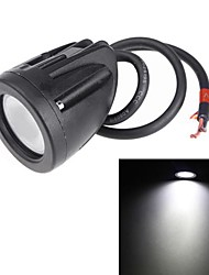 10W CREE Flood Beam LED Work Light Driving Lamp for Motorcycle ATV SUV Off-road Truck