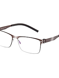 [Frame Only] Rectangle Full-Rim Eyeglasses