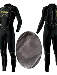 Slinx 5MM Warm Neoprene Scuba Diving Surf Spearfishing Wet Suits One Piece Neri All Mercerized Velvet suits