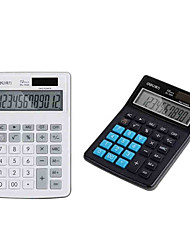 солнечная энергия водонепроницаемый калькулятор (случайный цвет)
