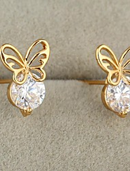 Women's Fashion High Quality Butterfly Zircon Earring(More Colors)