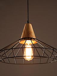 lustres maishang® mini-estilo tradicional / clássico do vintage com sala / quarto / sala de jantar / sala de estudo / escritório metal /