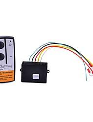 guincho elétrico sistema de controle remoto sem fio (preto)