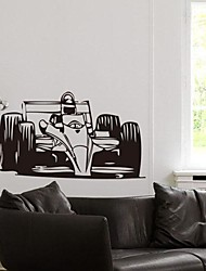 Environmental Removable Engraving Equation Motorcycle Wall Sticker